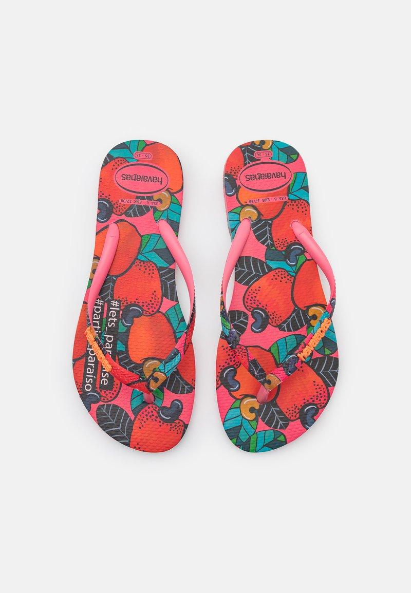 Havaianas - SLIM FIT SUMMER - Pool shoes - pink porcelain