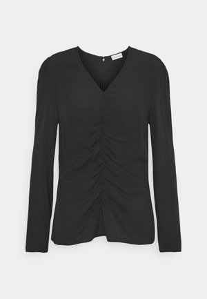 ANNIKE - Long sleeved top - black
