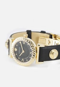 Versace Watches - MINI VANITY - Watch - black/goldcolored - 4