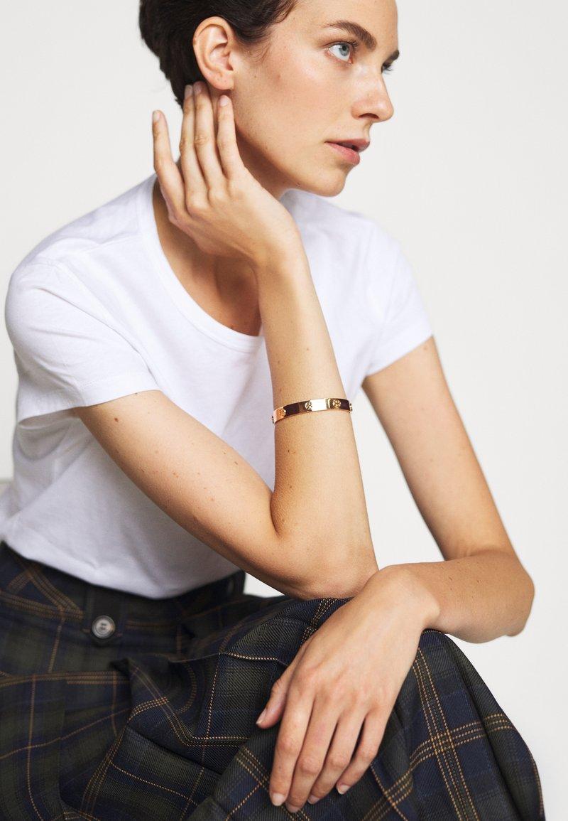 Tory Burch - MILLER STUD CUFF - Bracelet - gold-coloured