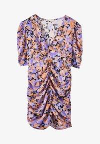 PULL&BEAR - Pouzdrové šaty - mottled purple - 4