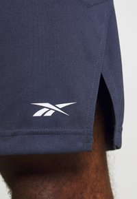 Reebok - SHORT - Pantalón corto de deporte - dark blue - 5