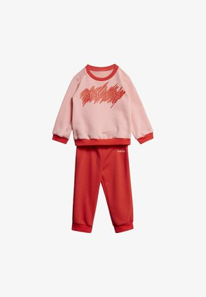 LINEAR FRENCH TERRY JOGGER - Tracksuit - pink