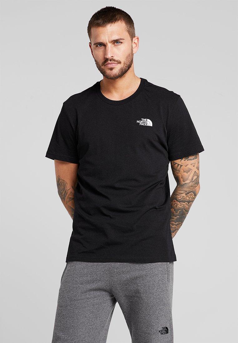 Men SIMPLE DOME TEE - Basic T-shirt - black