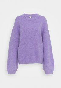 lilac purple light
