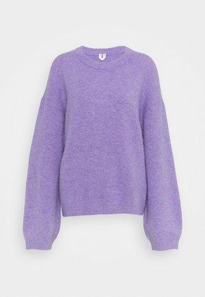 Sweatshirt - Strikpullover /Striktrøjer - lilac purple light