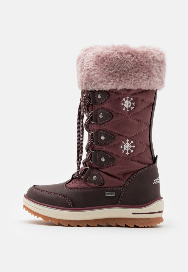 Winter boots - oxblood