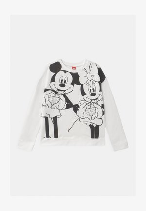 MICKEY MINNIE - Sweatshirt - snow white