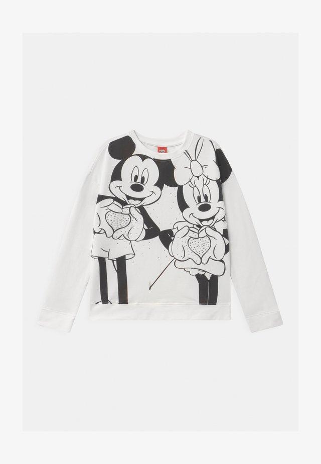 MICKEY MINNIE - Sweatshirt - snow white