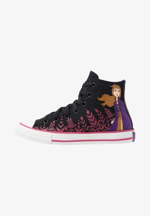 CHUCK TAYLOR ALL STAR FROZEN - High-top trainers - black/cherries jubilee/white