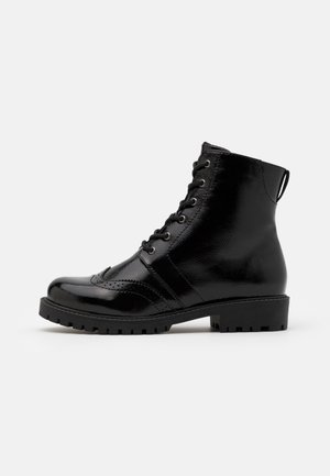 VMGLORIANOMI BOOT WIDE FIT  - Lace-up ankle boots - black