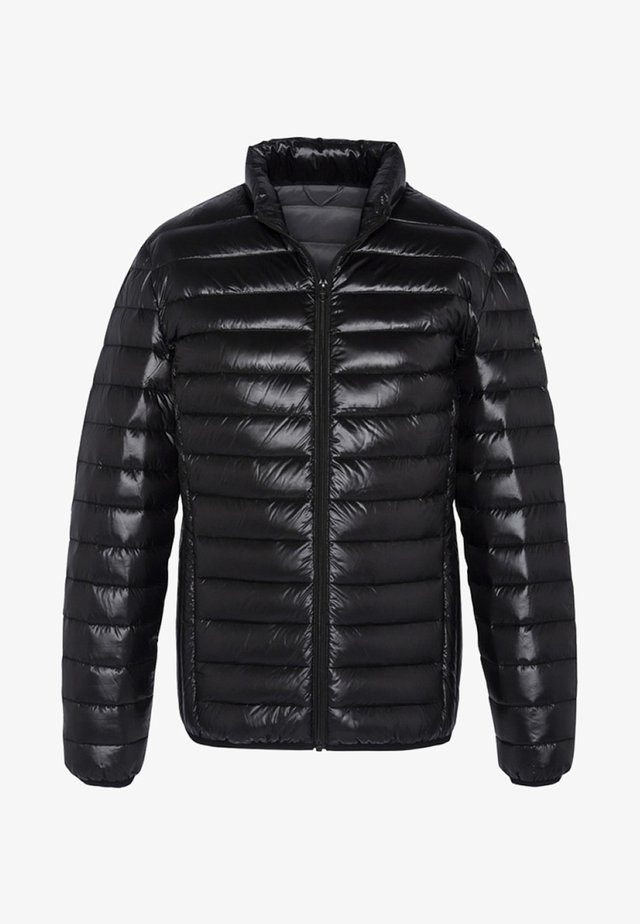 Talvitakki - shiny black