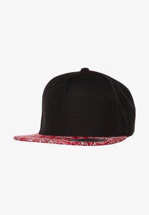 BANDANA - Cap - black/red