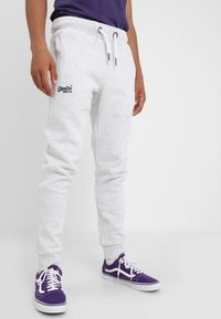 Superdry - Tracksuit bottoms - ica marl - 0