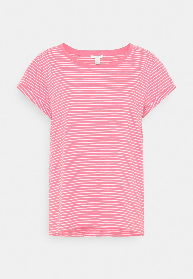 CORE - T-shirt med print - nude