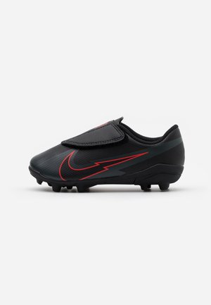 MERCURIAL JR VAPOR 13 CLUB MG UNISEX - Fußballschuh Nocken - black/dark smoke grey