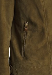 Pedro del Hierro - JACQUET - Leather jacket - green - 7