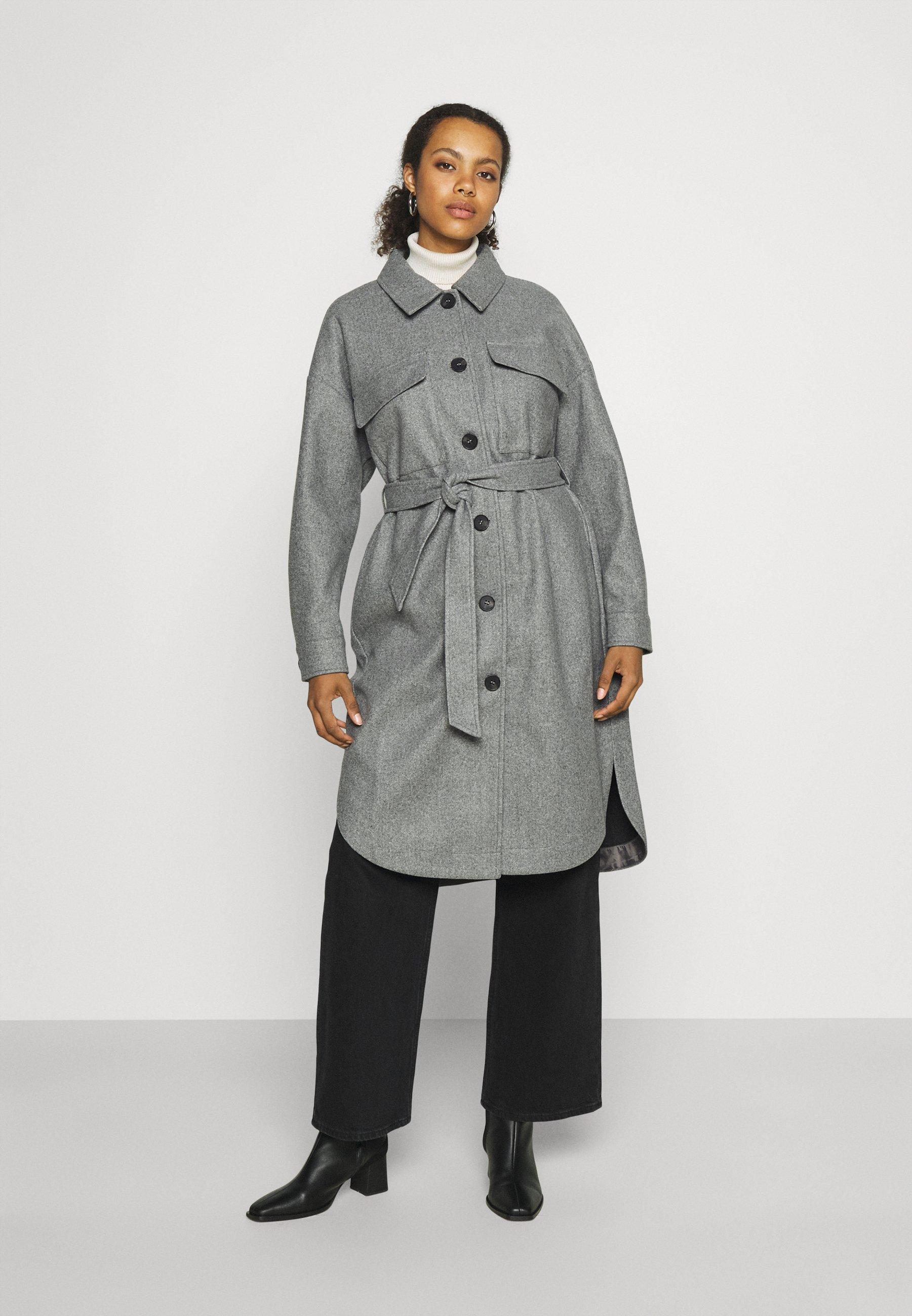 Women ONLVICTORIA LONG SHACKET - Classic coat