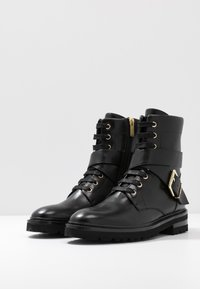 Steffen Schraut - CHAIN ROAD - Lace-up ankle boots - black - 2
