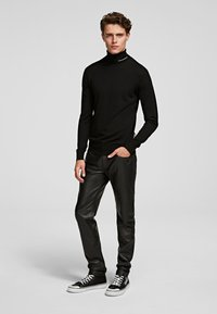 KARL LAGERFELD - Sweter - black - 1