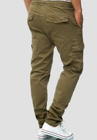 INDICODE JEANS - BROADWICK - Cargo trousers - army - 2