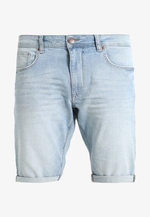 BULLSEYE - Denim shorts - bleached