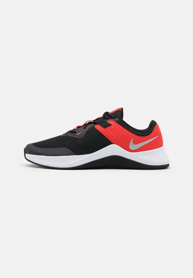 MC TRAINER - Trainings-/Fitnessschuh - black/metallic silver/chile red