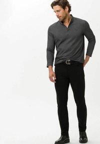BRAX - STYLE CHRIS - Trousers - black - 1