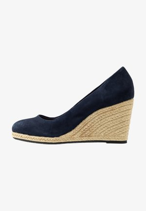 ANNABELS - Wedges - navy