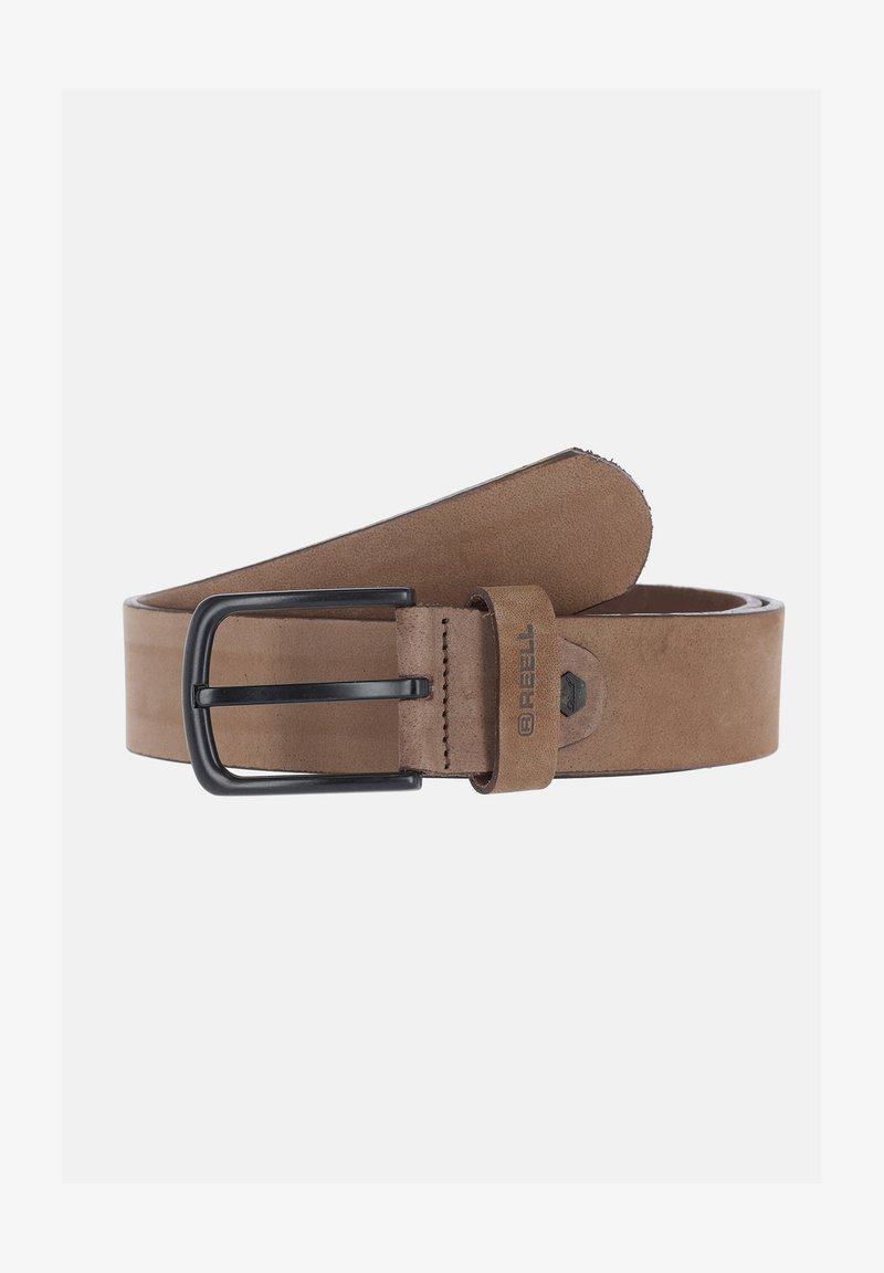 Reell - ALL BLACK BUCKLE - Belt - cappuccino