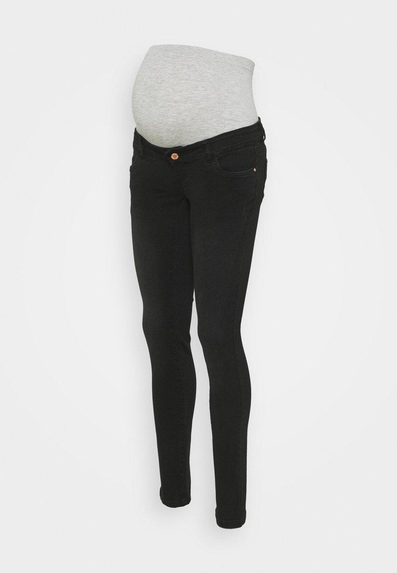 MAMALICIOUS - MLONO - Jeans slim fit - black denim