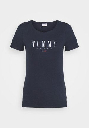 ESSENTIAL LOGO TEE - T-shirt print - twilight navy
