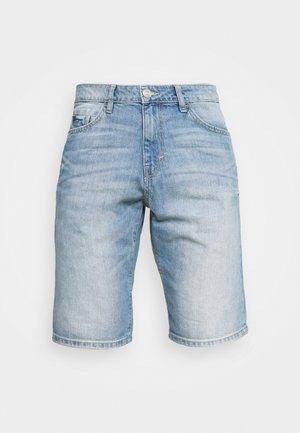 JOSH - Jeans Short / cowboy shorts - light stone wash denim