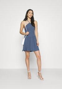 Fashion Union - ROMA DRESS - Day dress - blue - 1