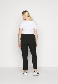 Vero Moda Curve - VMMAYA MR LOOSE SOLID PANT - Trousers - black - 2