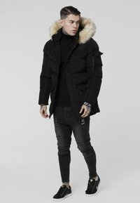 SIKSILK - PUFF - Vinterkappa /-rock - black