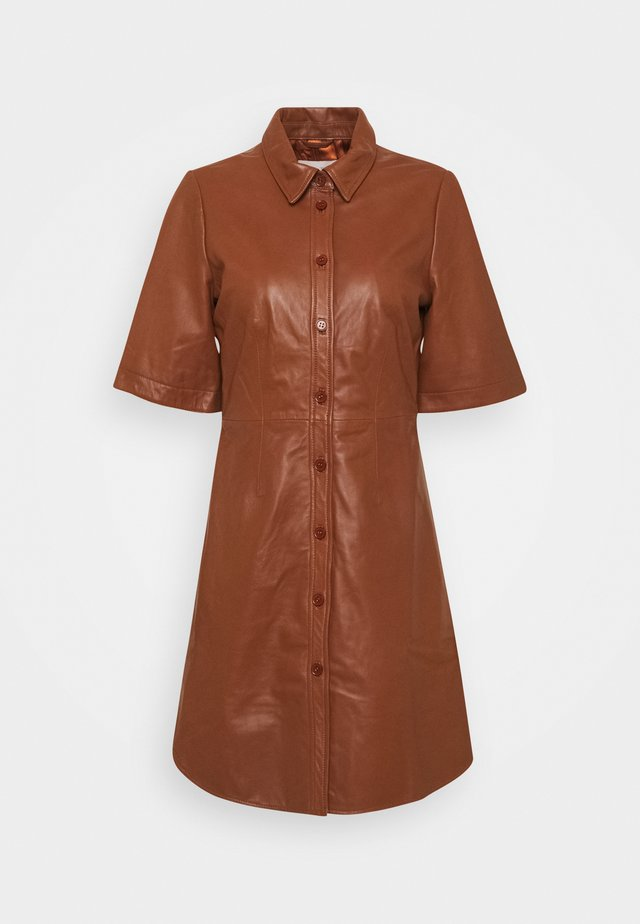 EDYTA - Day dress - chocolate glaze