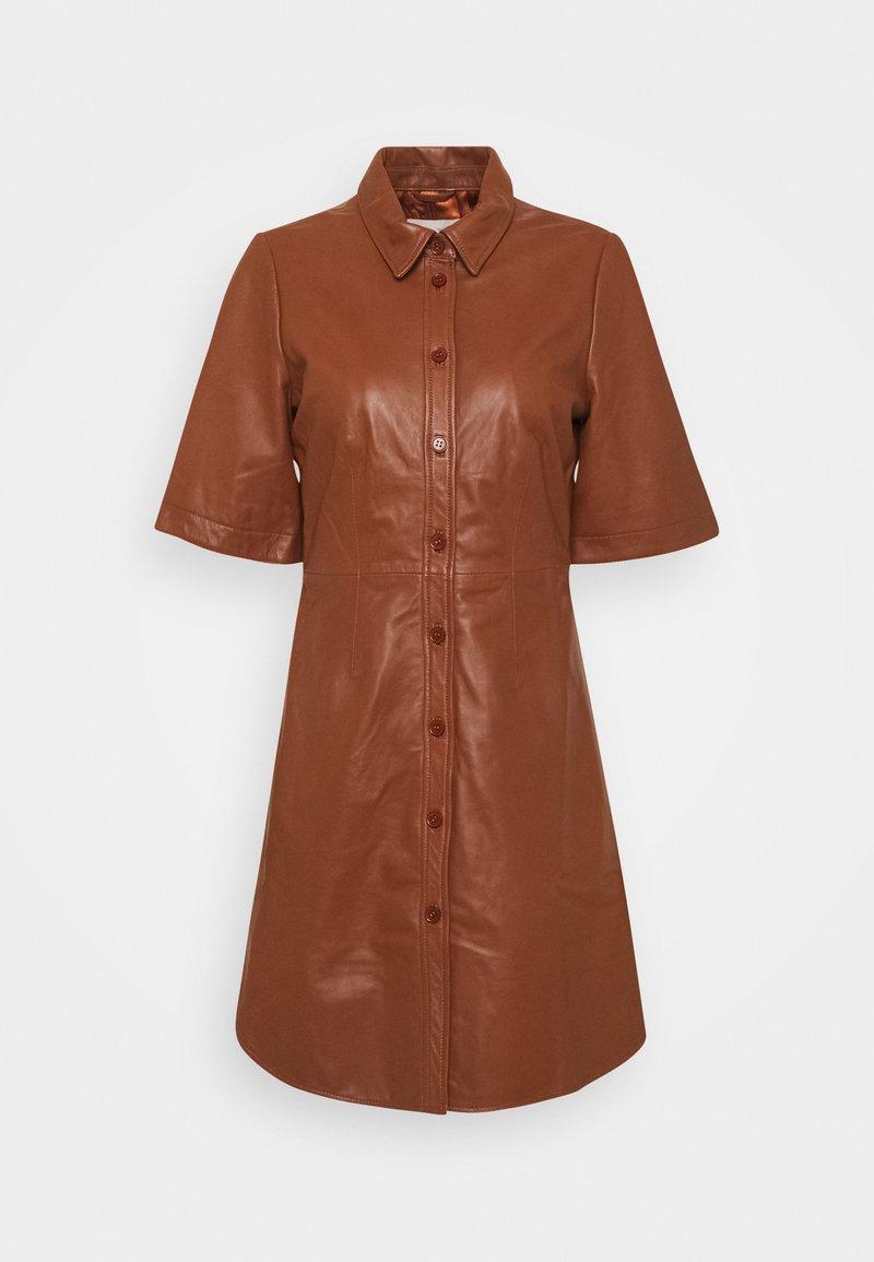 Part Two - EDYTA - Day dress - chocolate glaze