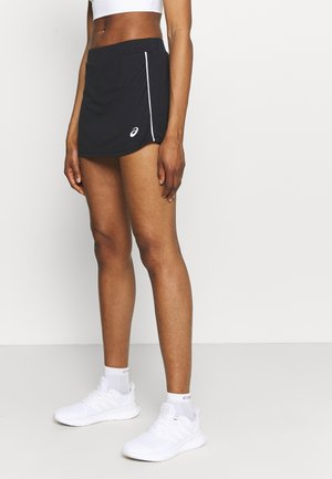 COURT SKORT - Sports skirt - performance black