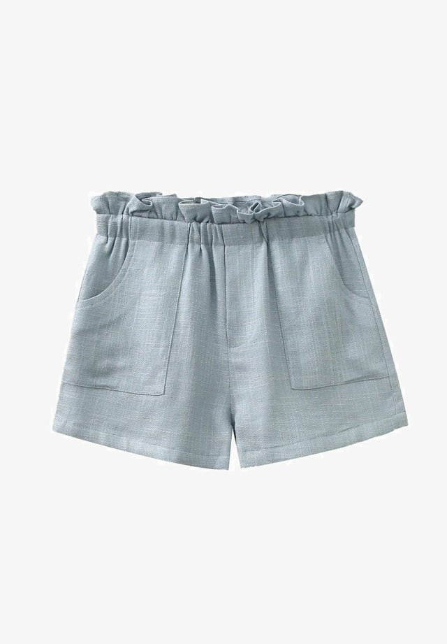Shorts - blue grey