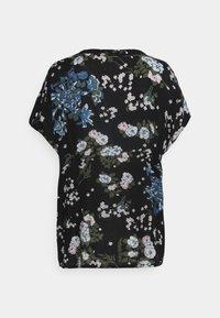 Kaffe - EKUA AMBER BLOUSE - T-shirt print - black/multi color - 1