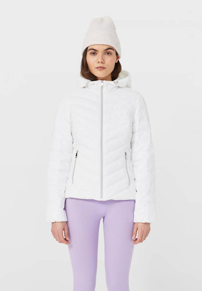Stradivarius - Light jacket - white