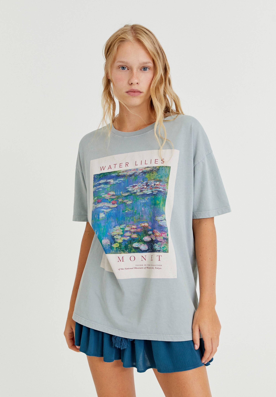 Damen MONET SEEROSEN - T-Shirt print