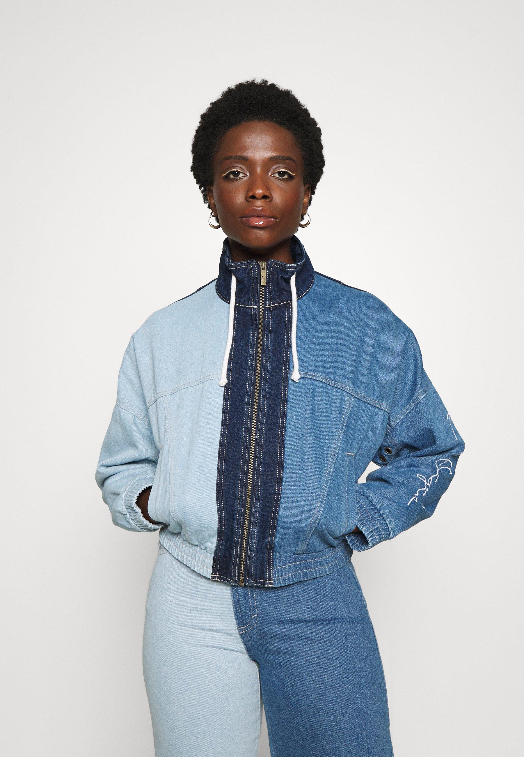 Women ORIGINALS BLOCK JACKET - Denim jacket