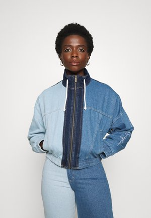 ORIGINALS BLOCK JACKET - Denim jacket - blue