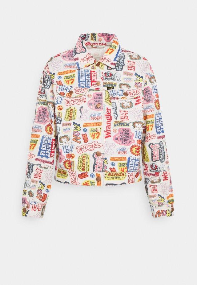 WESTERN UTILITY - Denim jacket - multi-coloured