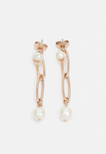 FASHION - Earrings - rose gold-coloured