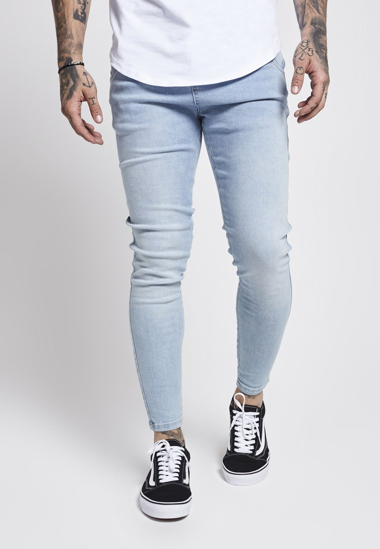 SIKSILK - Skinny džíny - light blue
