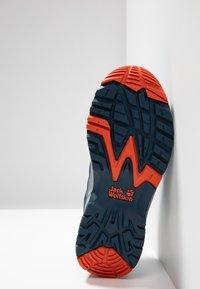 Jack Wolfskin - THUNDERBOLT TEXAPORE LOW  - Hikingschuh - blue/orange - 5