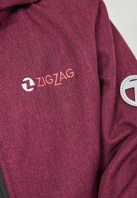 ZIGZAG - MANON MELANGE WATERPROOF - Light jacket - 4072 pink peacock - 4